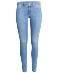 Women's Light Blue Skinny Jeans by H&M | Women's Fashion