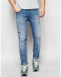 Lee Jeans Luke Skinny Fit Stretch Instinct Blue Light Wash
