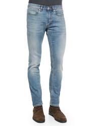 Acne Studios Max Skinny Fit Denim Jeans Light Blue