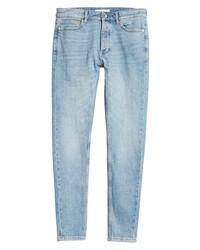 Topman Open End Light Wash Jeans