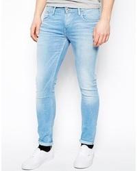 e19987fa87178 Men's Light Blue Skinny Jeans by Pepe Jeans   Men's Fashion ...