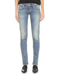 Racer low rise skinny jeans medium 529696