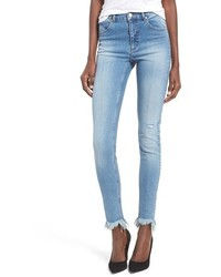 Cheap Monday Second Frayed Hem Skinny Jeans
