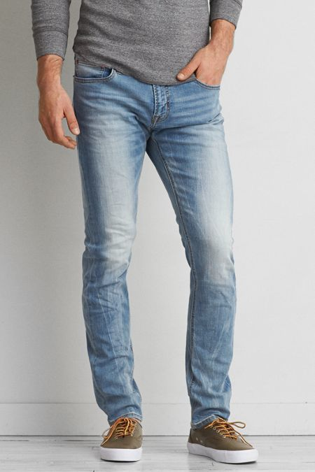 6ac597f006a American Eagle Outfitters Skinny Active Flex Jean, $49 | American ...