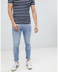 Tom Tailor Skinny Fit Jeans In Light Wash