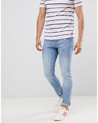 Tom Tailor Skinny Jeans In Light Stone Blue