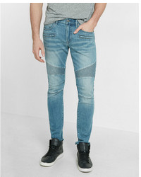 Express Skinny Moto Stretch Jeans