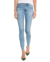 AG The Farrah High Waist Ankle Skinny Jeans