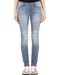 Current/Elliott The Moto Ankle Skinny Jeans Blue Size 26
