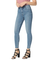 Sam Edelman The Stiletto High Waist Double Hem Ankle Skinny Jeans