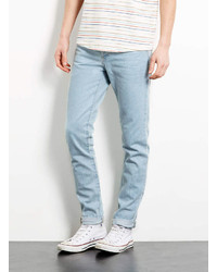 Topman Light Blue Tapered Skinny Jeans | Where to buy & how to wear