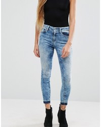 Only Ultimate Dyed Ankle Skinny Jeans
