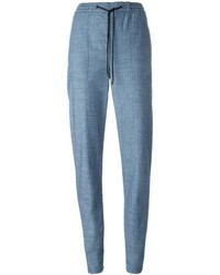 Proenza Schouler Drawstring Chambray Trousers