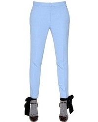 Rochas Stretch Viscose Cady Trousers