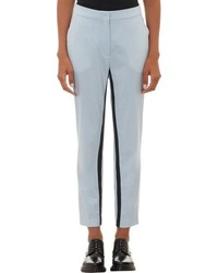 Barneys New York X Yasmin Sewell Contrast Inseam Stripe Skinny Trouser