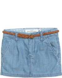 H&M Skirt With Braided Belt