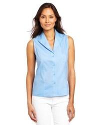 3 1 Phillip Lim Sleeveless Stripe Shirt Blue Stripe 8