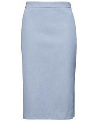 Banana Republic Bi Stretch Pencil Skirt With Side Slit