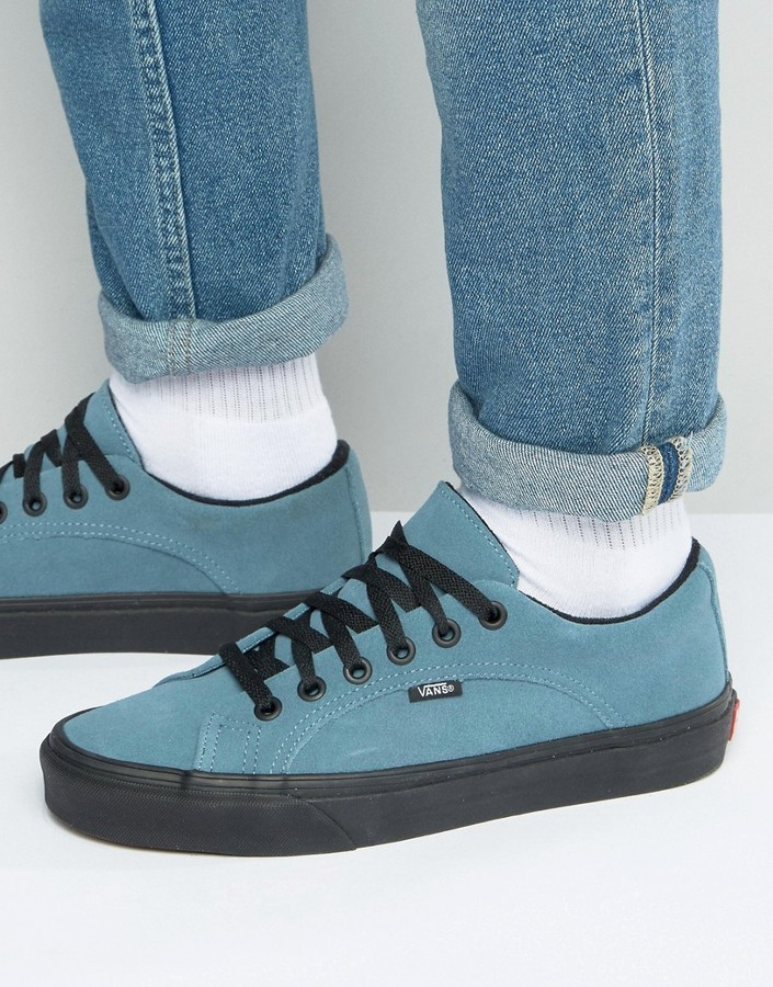 f4056ccd68 ... Vans Lampin Sneakers In Blue Va2viflss ...