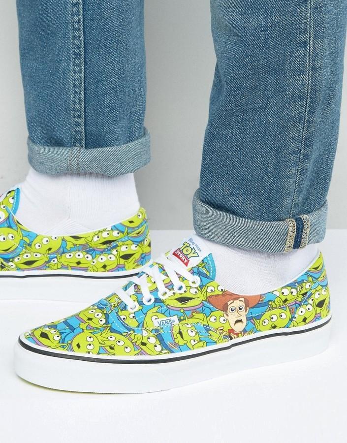 f0f0cab0096 ... Vans X Toy Story Era Aliens Sneakers In Blue Va32r8m4u ...