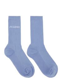 Jacquemus Blue Les Chaussettes Socks