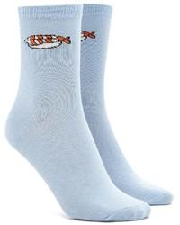 Forever 21 Sushi Graphic Crew Socks