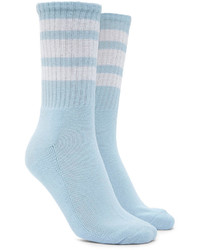 Forever 21 Varsity Stripe Crew Socks