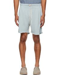 Light Blue Sports Shorts