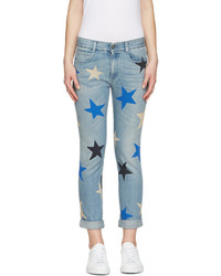 Stella McCartney Blue Star Skinny Boyfriend Jeans