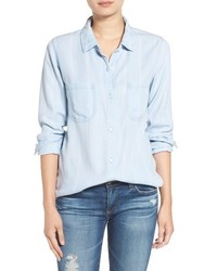 Rails Carter Star Print Chambray Shirt