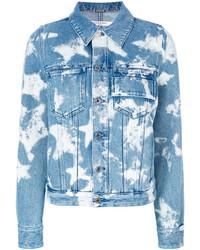 Givenchy Bleached Star Denim Jacket