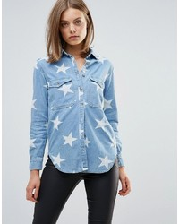 Glamorous Star Print Shirt