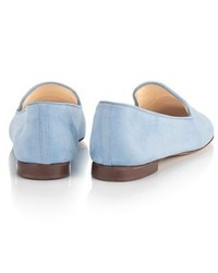 Schoshoes Blue Suede Winking Eyes