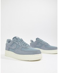 Nike Air Force 1 07 Suede Trainers In