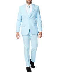 Opposuits the cool blue three piece suit medium 760191