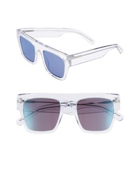 Stella McCartney 51mm Flattop Sunglasses
