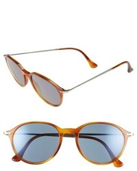 Persol 51mm Sunglasses Light Havana