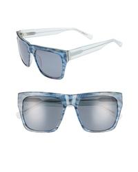 ED Ellen Degeneres 57mm Gradient Square Sunglasses