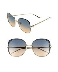 Gucci 58mm Gradient Sunglasses