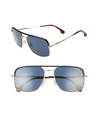 Carrera Eyewear 60mm Gradient Aviator Sunglasses