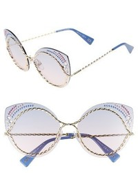 Marc Jacobs 61mm Rimless Gradient Cat Eye Sunglasses