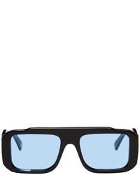 Marcelo Burlon County of Milan Black Retrosuperfuture Edition Cruz Wings Sunglasses