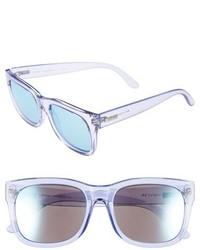 e3ee9ed0b6c937 ... Le Specs Captain Courageous 53mm Sunglasses Glacier Ice Blue Mirror