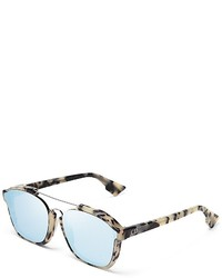 Christian Dior Dior Abstract Square Mirrored Sunglasses 58mm