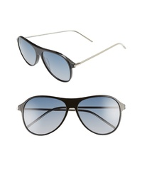 BONNIE CLYDE Godspeed 58mm Aviator Sunglasses