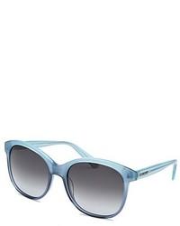 Balmain Light Blue Butterfly Sunglasses