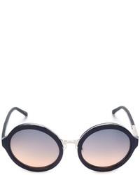 Linda Farrow Gallery Round Frame Sunglasses