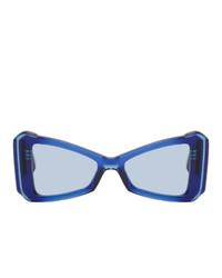 MAISON KITSUNÉ Navy Khromis Edition Cat Eye Sunglasses