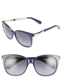 Kate Spade New York Julieanna 54mm Polarized Sunglasses Black Havana