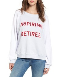 Wildfox aspiring retiree sweatshirt medium 4344231